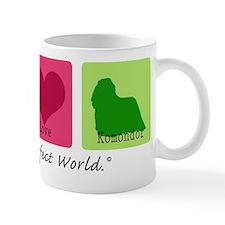 Peace Love Komondor Mug