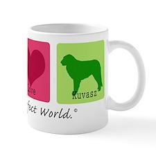 Peace Love Kuvasz Mug
