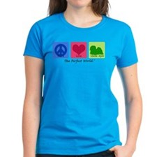Peace Love Lhasa Apso Tee
