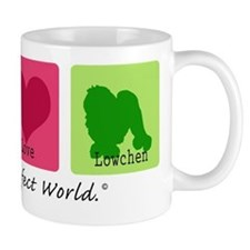 Peace Love Lowchen Mug