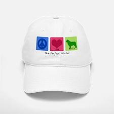 Peace Love Newfie Baseball Baseball Cap