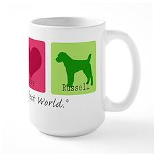 Peace Love Russell Mug