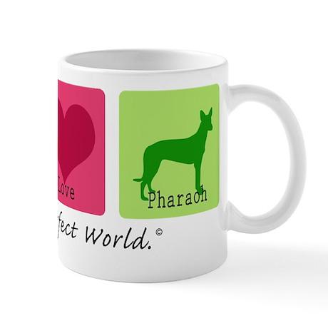 Peace Love Pharaoh Mug