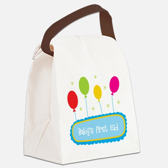 Baby's First Eid Canvas Lunch Bag