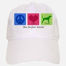 Peace Love Plott Baseball Baseball Cap