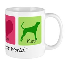 Peace Love Plott Mug