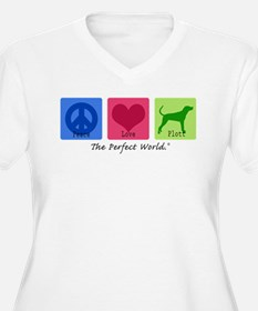 Peace Love Plott T-Shirt