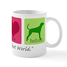 Peace Love Redbone Mug