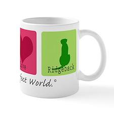 Peace Love Ridgeback Mug
