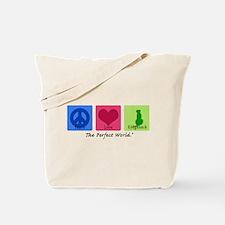 Peace Love Ridgeback Tote Bag