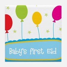 Baby's First Eid Tile Coaster