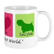 Peace Love Sealyham Mug