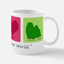 Peace Love Shih Tzu Mug