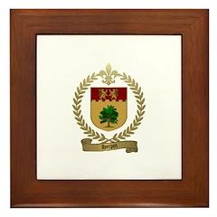 HERPIN Family Crest Framed Tile