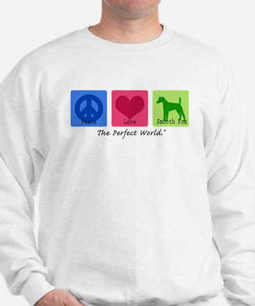 Peace Love Smooth Fox Sweatshirt