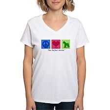 Peace Love Wheaten Shirt