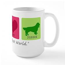 Peace Love Sussex Mug