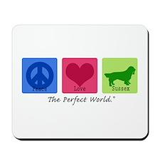 Peace Love Sussex Mousepad