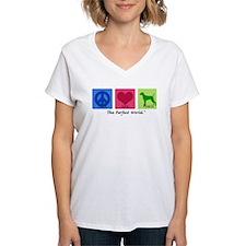Peace Love Vizsla Shirt