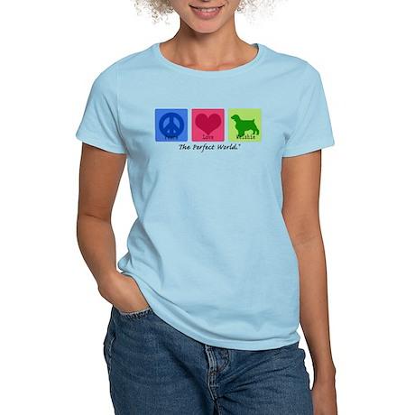 Peace Love Welshie Women's Light T-Shirt