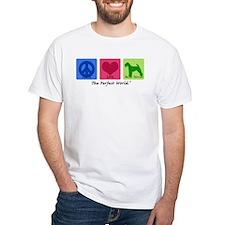 Peace Love Welsh Terrier Shirt