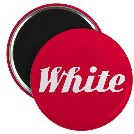 White trucks Magnet
