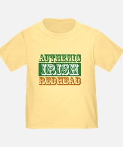 Authentic Irish Redhead T