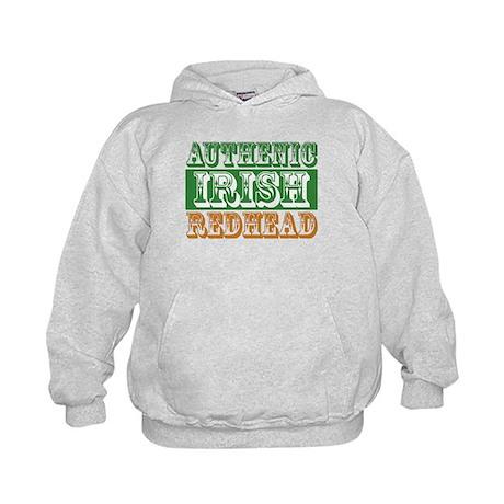 Authentic Irish Redhead Kids Hoodie