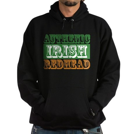 Authentic Irish Redhead Hoodie (dark)