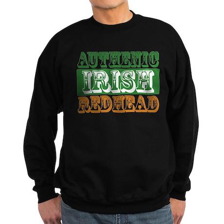 Authentic Irish Redhead Sweatshirt (dark)