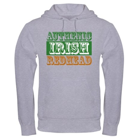 Authentic Irish Redhead Hooded Sweatshirt