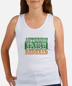 Authentic Irish Redhead Women's Tank Top