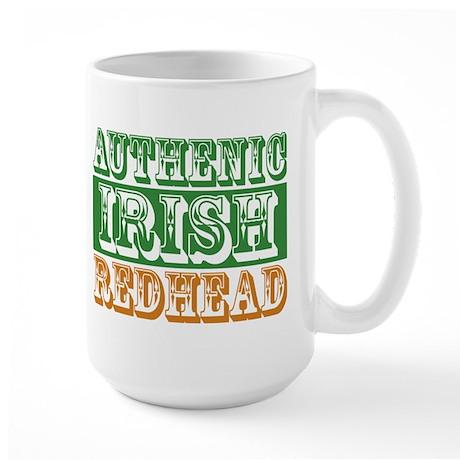 Authentic Irish Redhead Large Mug