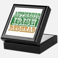 Authentic Irish Redhead Keepsake Box