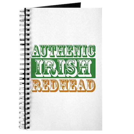 Authentic Irish Redhead Journal