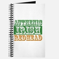 Authentic Irish Redhead Journal