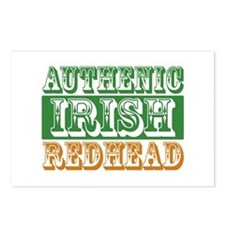 Authentic Irish Redhead Postcards (Package of 8)
