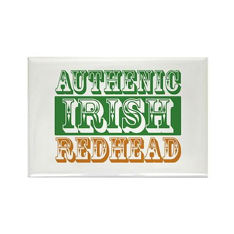 Authentic Irish Redhead Rectangle Magnet (10 pack)
