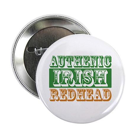 "Authentic Irish Redhead 2.25"" Button"