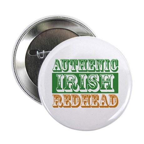 "Authentic Irish Redhead 2.25"" Button (10 pack)"