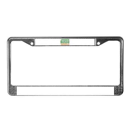 Authentic Irish Redhead License Plate Frame