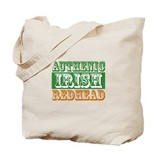 Authentic Irish Redhead Tote Bag