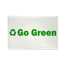 EnviroGreen Recycle Rectangle Magnet