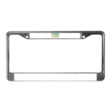Authentic Irish Princess License Plate Frame