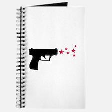 black pistol 9mm star gun Journal
