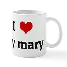 I Love my mary Small Mug