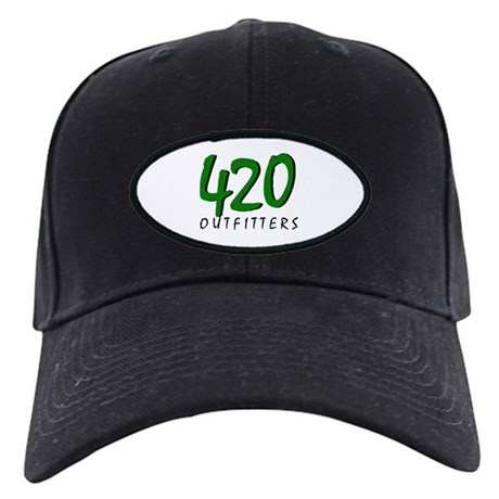 420 OUTFITTERS Black Cap