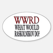 WWRD Oval Decal