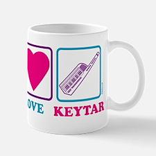 Peace Love Keytar Mug