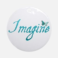 Imagine Ornament (Round)